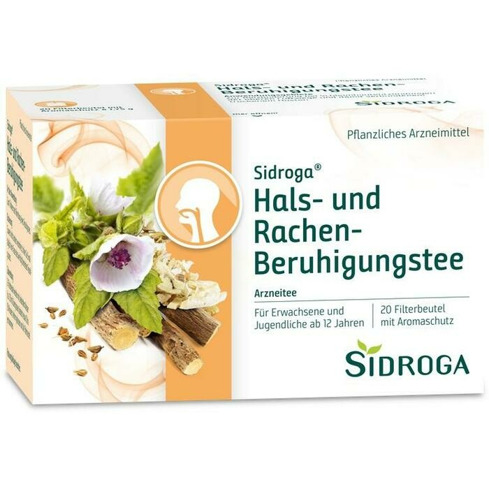 SIDROGA Hals- und Rachen-Beruhigungstee Filterbtl.
