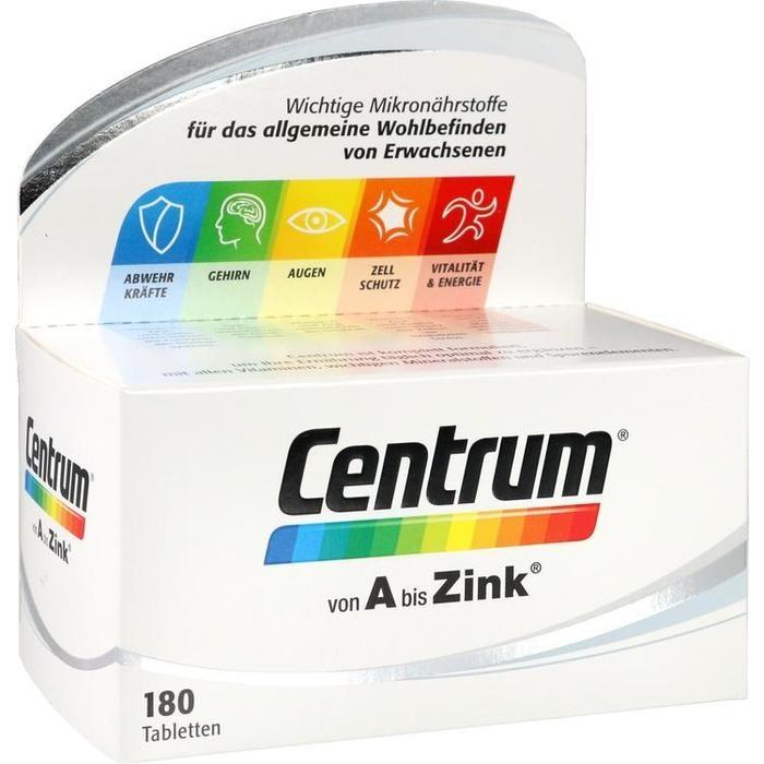 CENTRUM A-Zink Tabletten