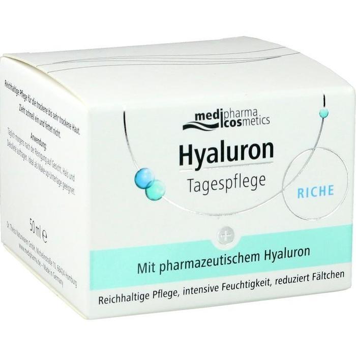 HYALURON TAGESPFLEGE riche Creme im Tiegel