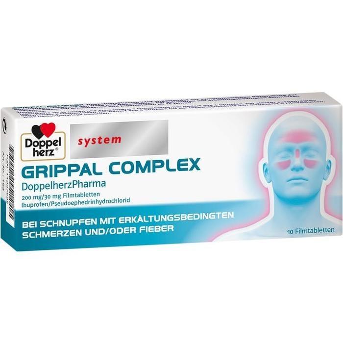 GRIPPAL COMPLEX DoppelherzPharma 200 mg/30 mg FTA