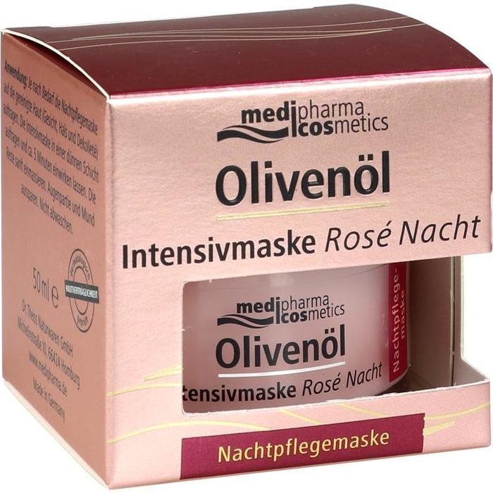 OLIVENÖL INTENSIVMASKE Rose Nachtcreme