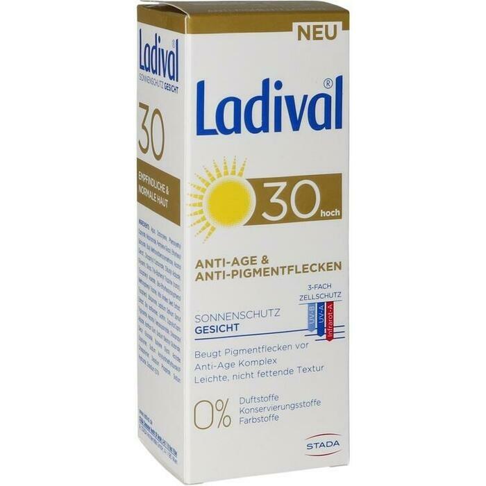 LADIVAL Sonnenschutz Gesicht Anti-Pigm.Cr.LSF 30