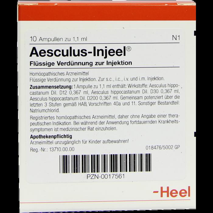 AESCULUS INJEEL Ampullen