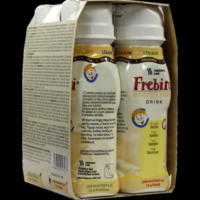 FREBINI Energy Fibre Drink Vanille Trinkflasche