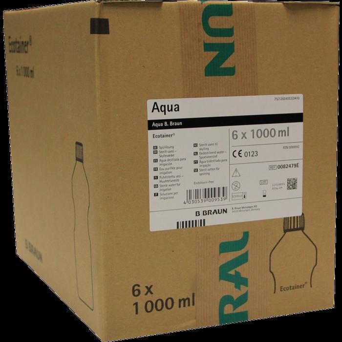 AQUA B.Braun Spüllösung Kunststoff Flasche