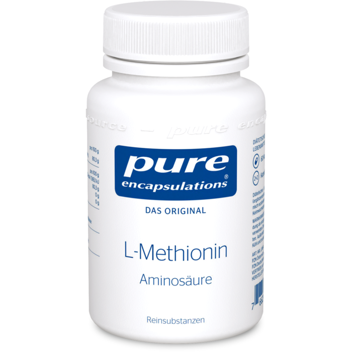 PURE ENCAPSULATIONS L-Methionin Kapseln