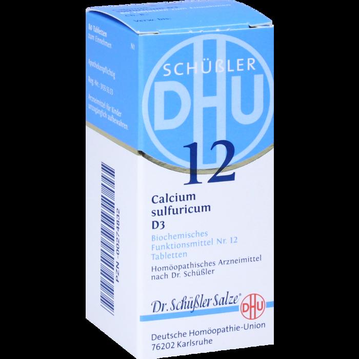 BIOCHEMIE DHU 12 Calcium sulfuricum D 3 Tabletten