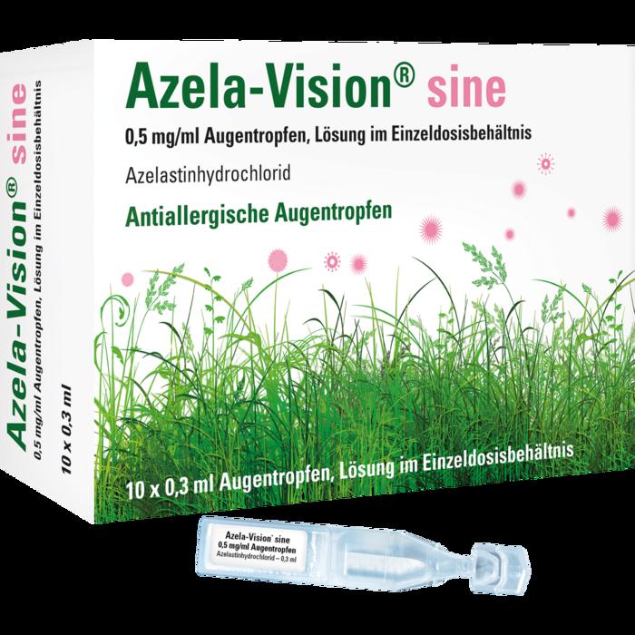 AZELA-Vision sine 0,5 mg/ml Augentr.i.Einzeldosis.