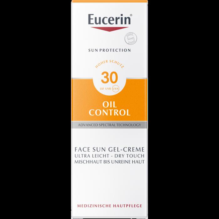 EUCERIN Sun Gel-Creme Oil Contr.Anti-Gl.Eff.LSF 30